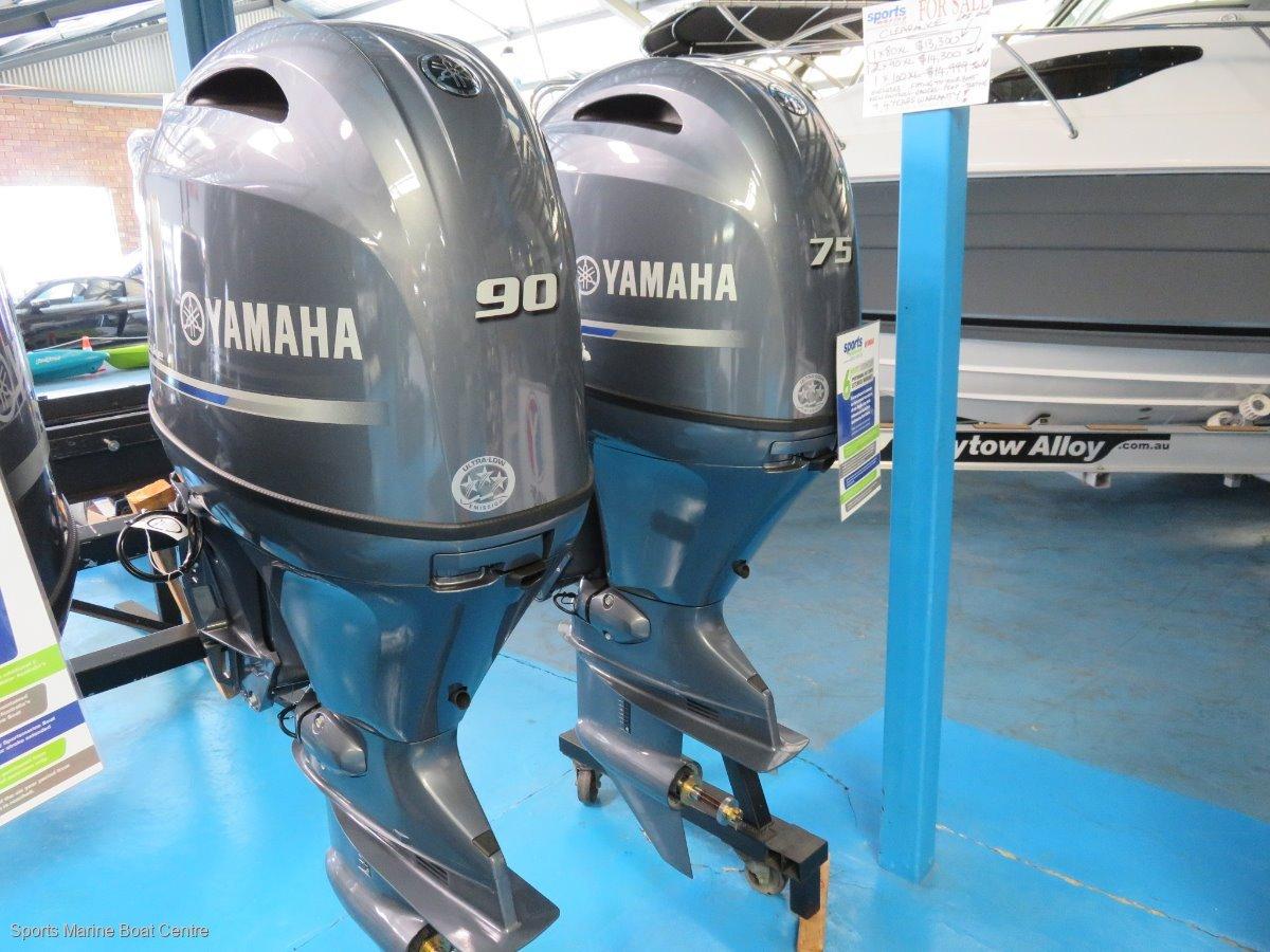 75hp Yamaha 4 stroke