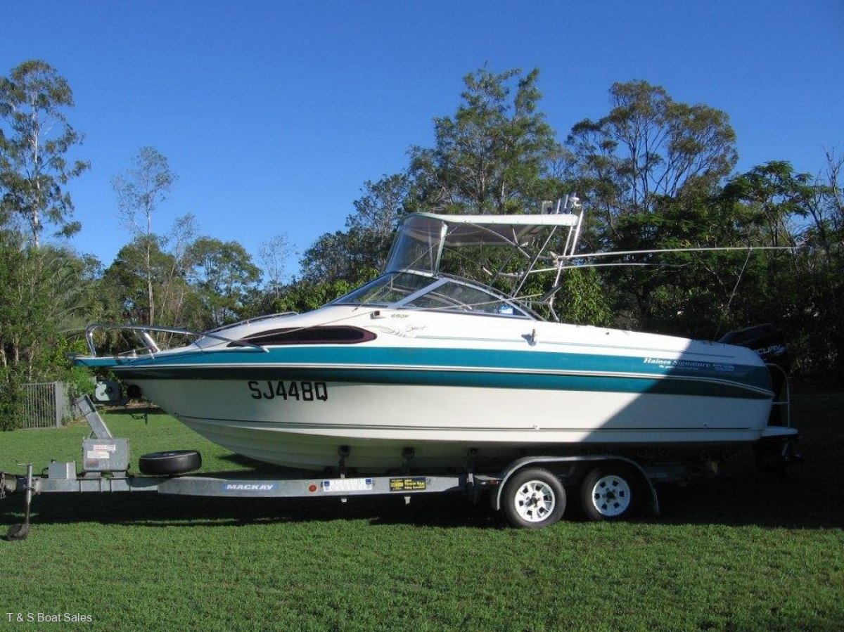 Haines Signature 650F Large trailer boat
