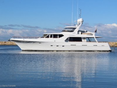 McMullen & Wing Expedition Motor Yacht **Extensive Refit 2009**
