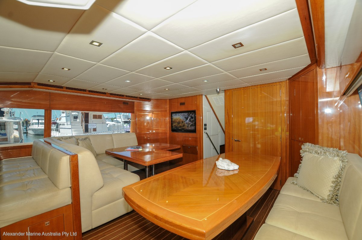 Riviera 70 Enclosed Flybridge