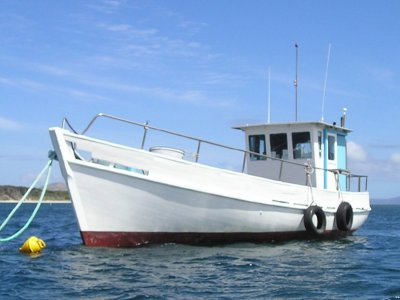 Custom Cray boat by Peter Payne