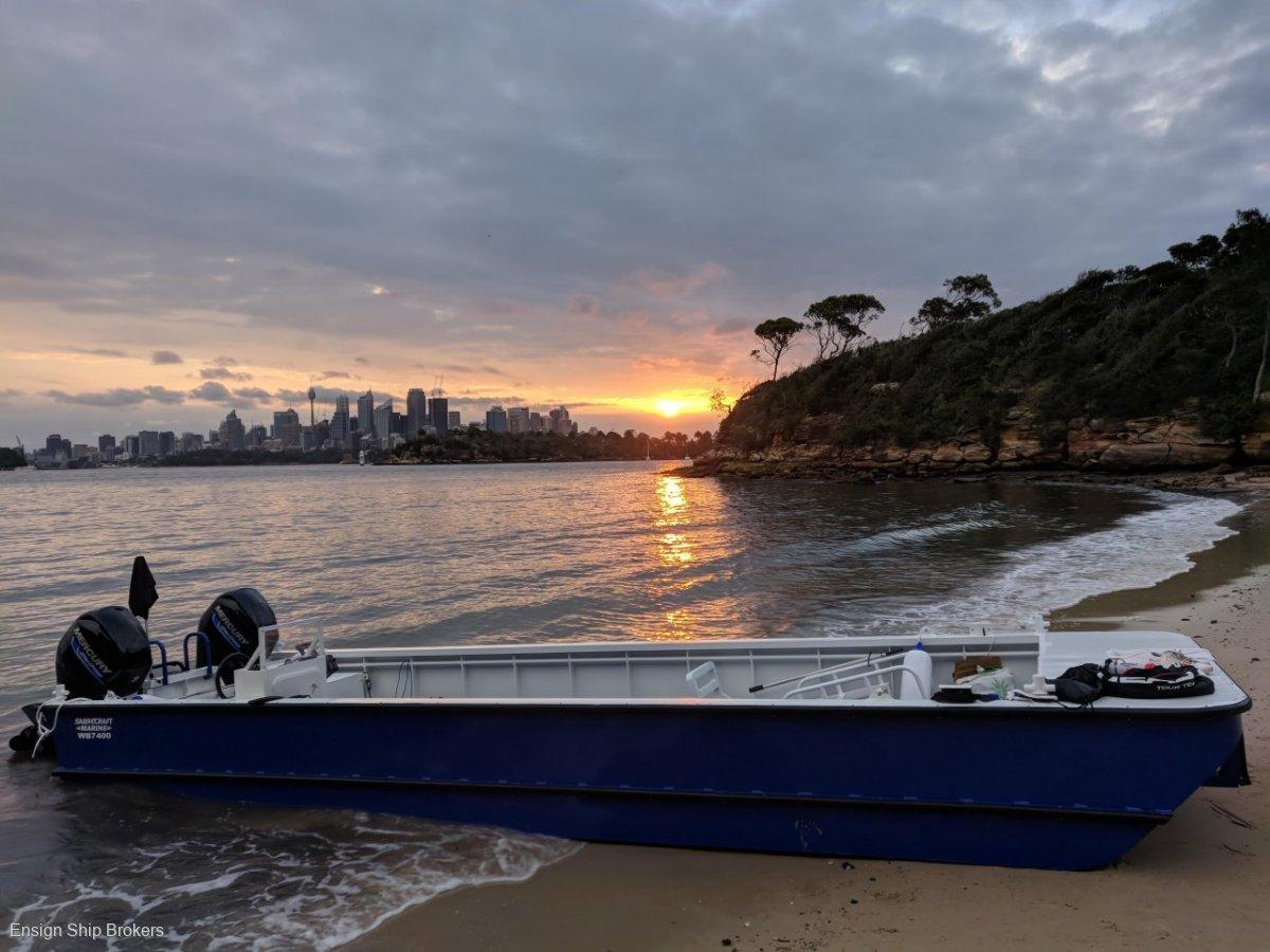 Sabrecraft Marine Barge