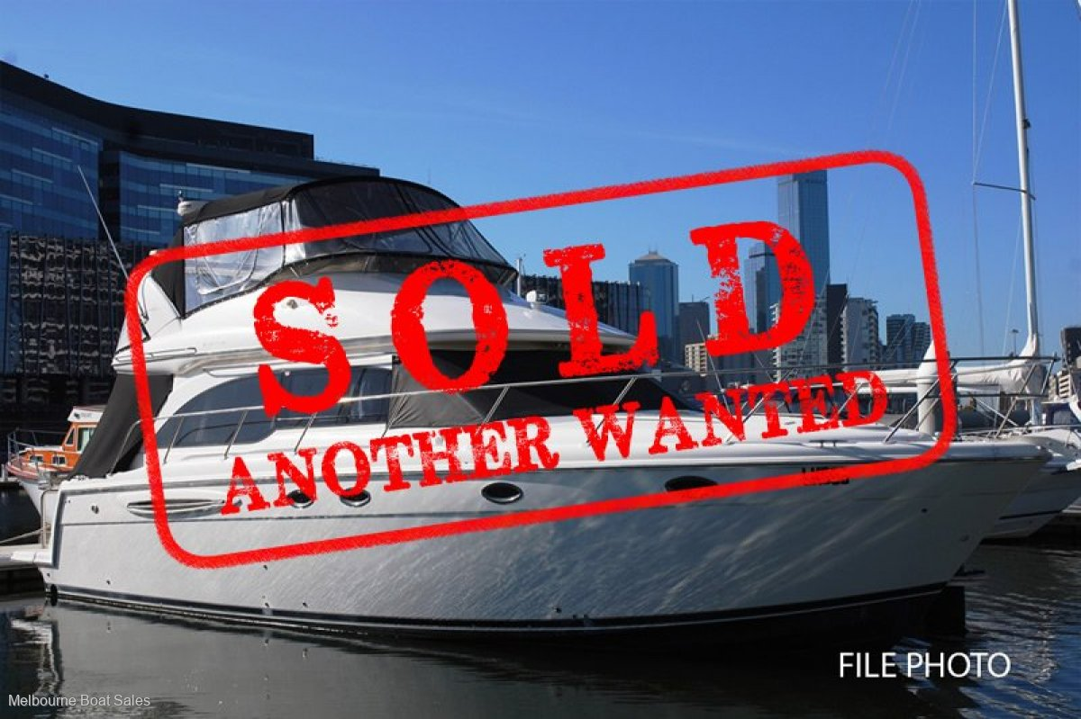 Meridian 411 Sedan - SOLD - ANOTHER WANTED
