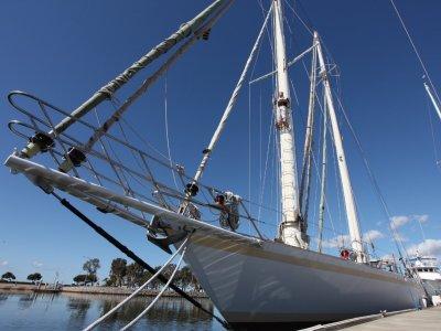 83' Staysail Schooner built 1994 by Madlener&Sons