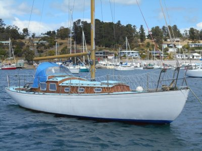 Sparkman & Stephens 33ft Traditional Timber Yacht