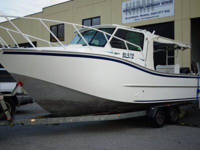 Stagg Boats Cabin Cruiser 8.4 PRESENTS LIKE NEW CONDITION, A MUST SEE !!