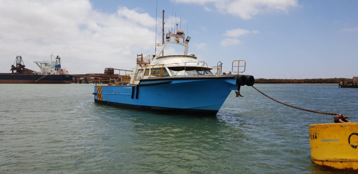 Fine Entry Marine 60 Foot ----------- Offshore Crew & Utility Vessel