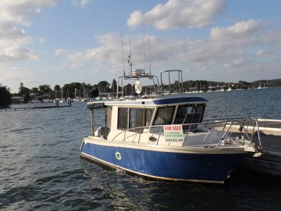 Saltwater Commercial Boats 8.0 Hardtop
