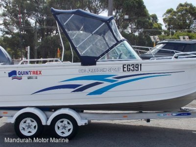 Quintrex 610 Freedom Sport - Price Reduction!