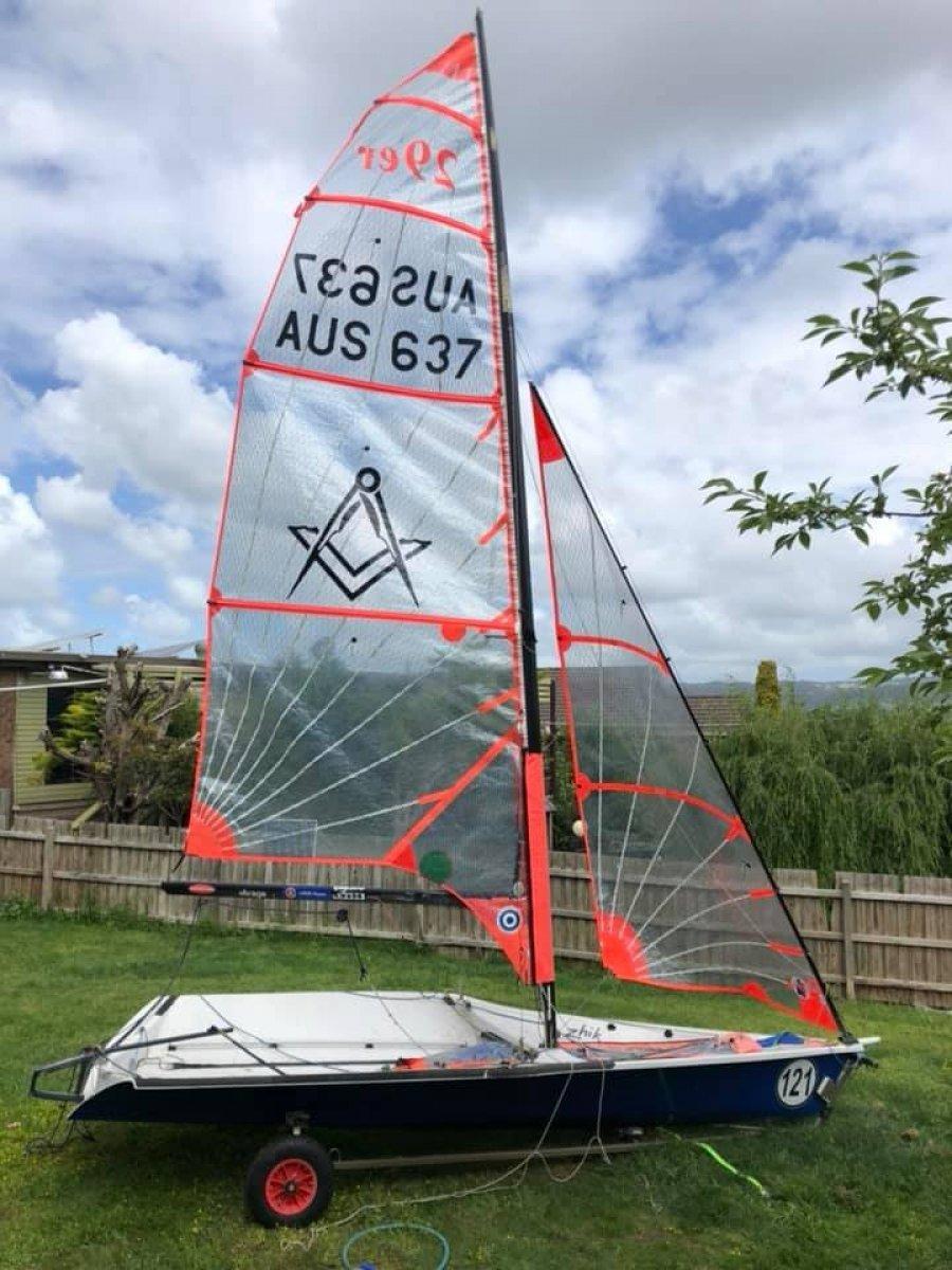 Ovington 29ER Boat / Sailboat / Dinghy / Yacht