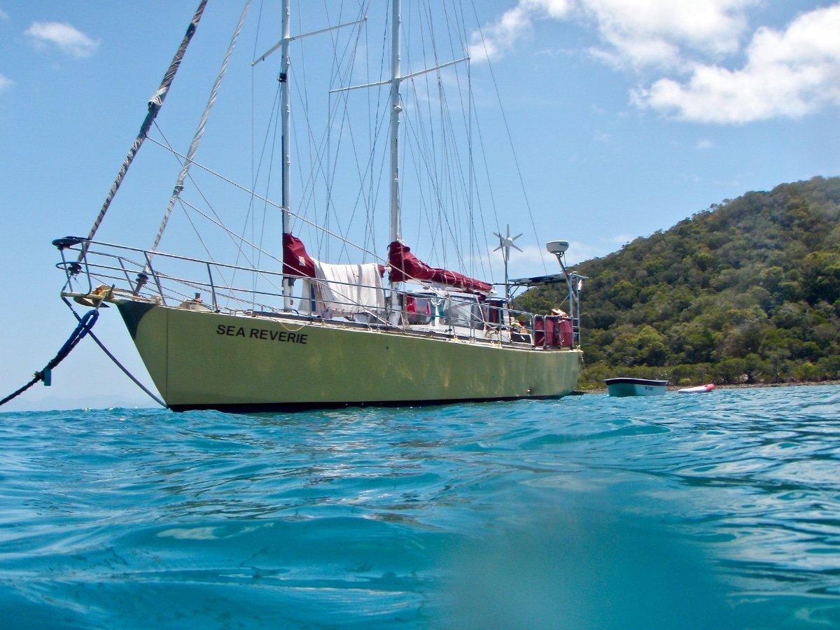 Boden South Seas 39' Steel Cruising Yacht
