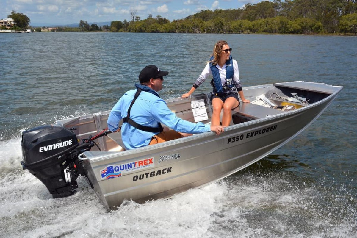 New Quintrex 350 Explorer