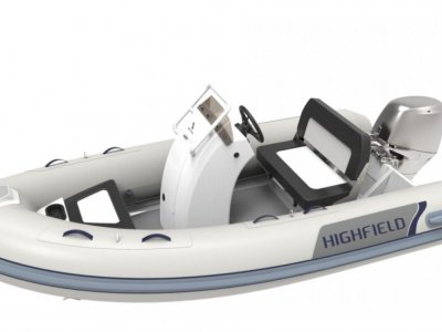Highfield Ocean Master 350 Deluxe PVC | Port River Marine Services