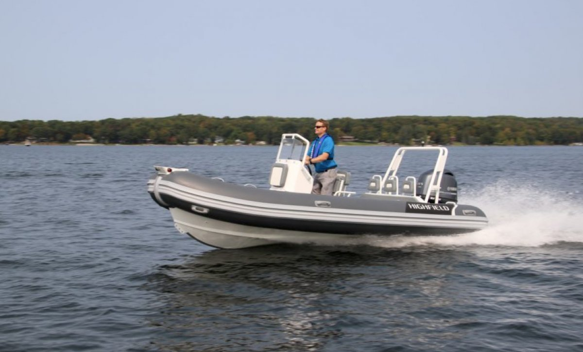 Highfield Ocean Master Deluxe 540 PVC | Port River Marine Services