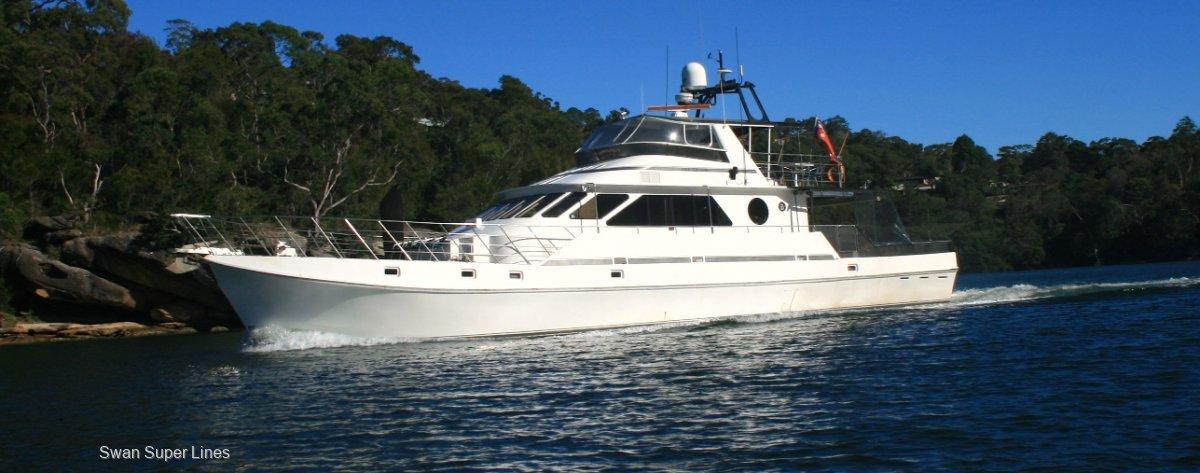 Precision Custom VIp Charter Motor yacht, long range series