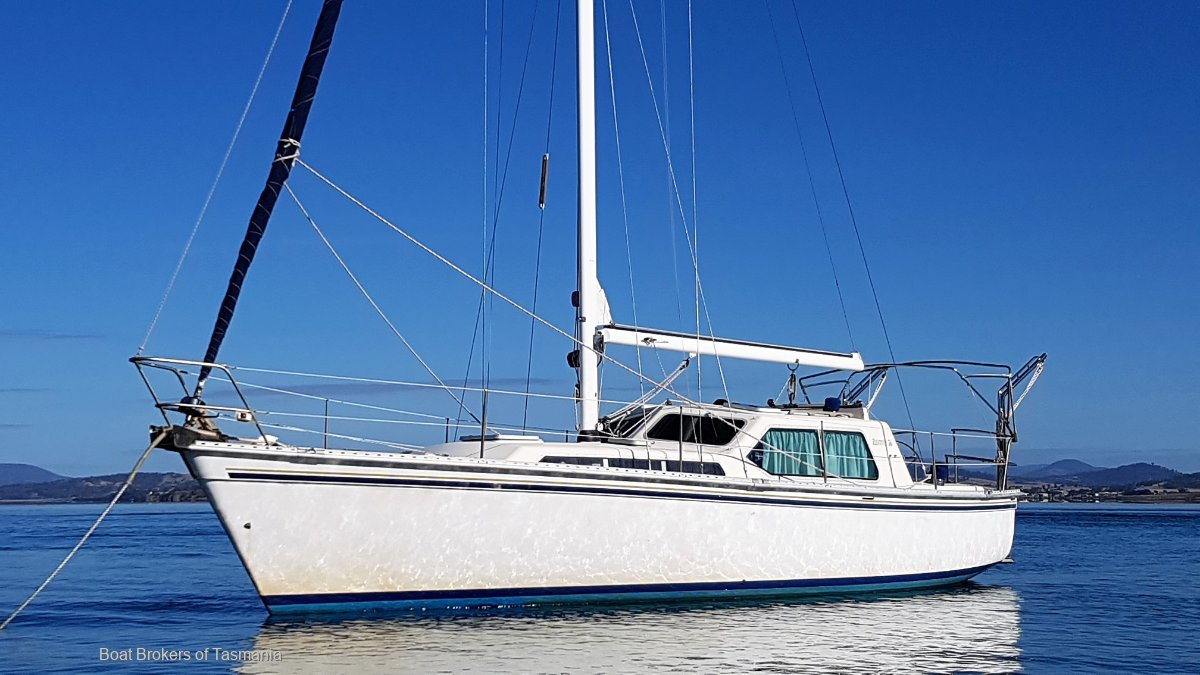 Adagio Zeston 36 Fibreglass Motor Sailer. PRICE REDUCED! Boat Brokers of Tasmania