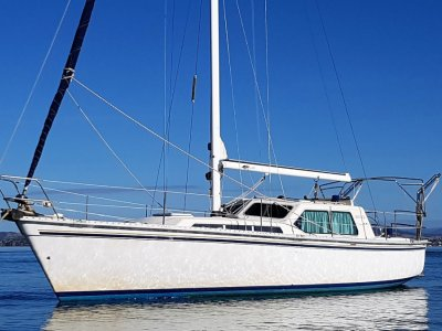 Zeston 36 Fibreglass Motor Sailer.