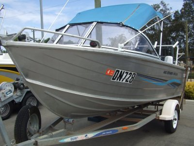 Quintrex 445 Estuary Angler Runabout