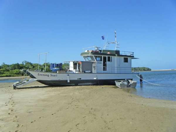 Commercial Aluminium Front Loading Landing Barge