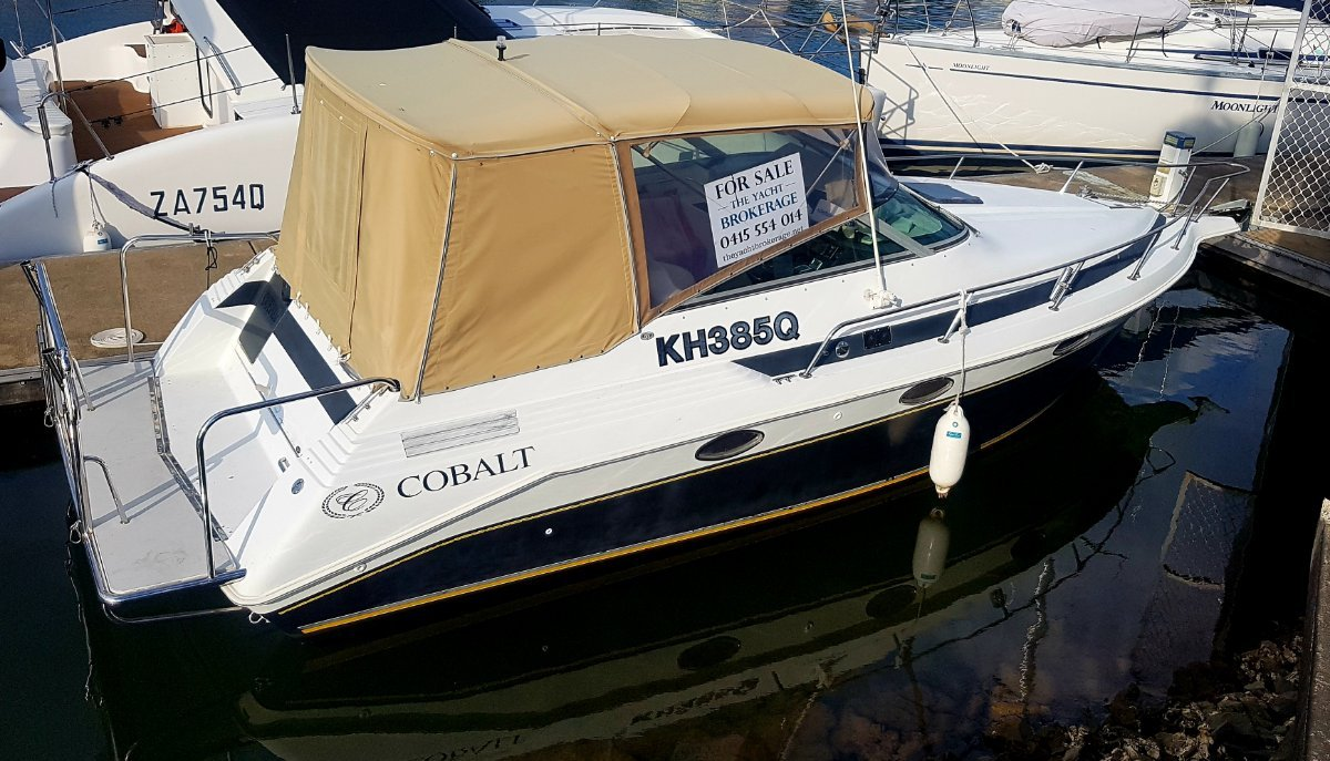 Cobalt 263 Cuddy Cabin