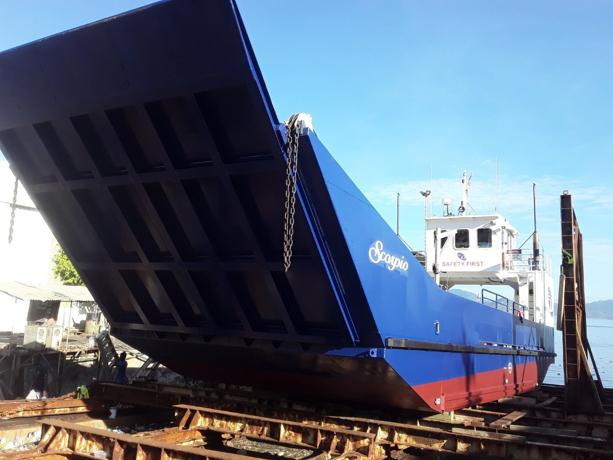 20m Landing Barge / Vehicle Ferry:Feb 2020
