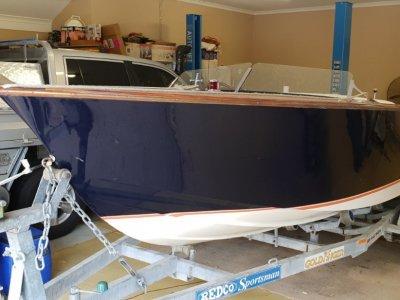Custom Craft 20 Foot speed boat