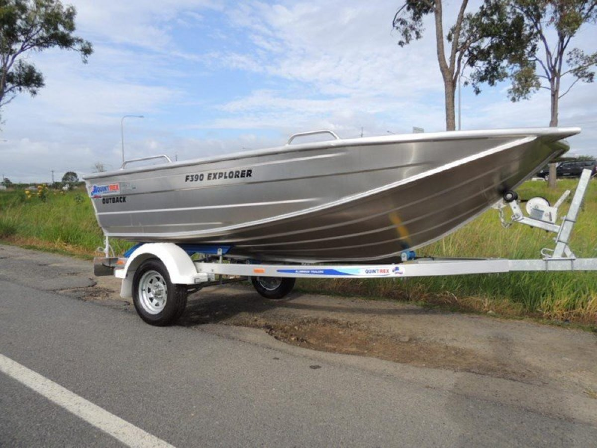 New Quintrex F390 Outback Explorer