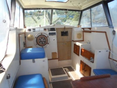 Sunbird Motor Sailer sunbird 25 getting tidy up soon