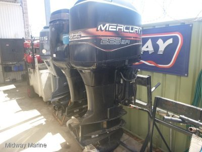 PRE-OWNED MERCURY 225HP EFI 2/STROKE OUTBOARD