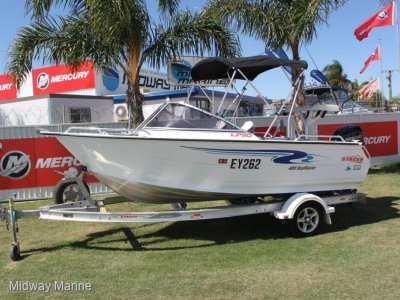 Stacer 489 Bay Master Runabout
