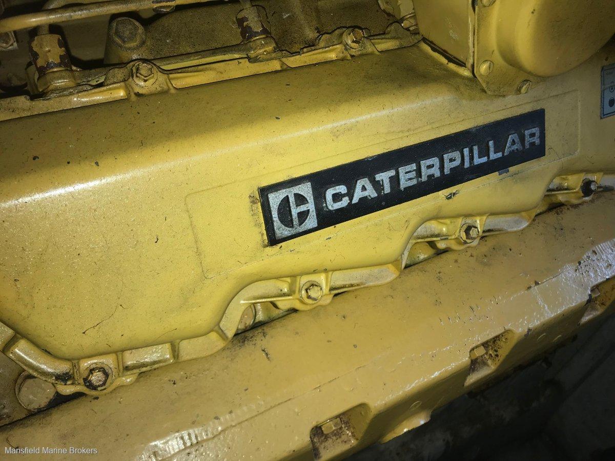Bertram Caribbean 35 Twin Cat diesels
