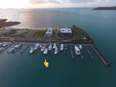 PORT OF AIRLIE THE BEACONS 30M X 11.3M MARINA BERTH