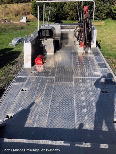 Alumarine 10m X 3.4m Work Barge