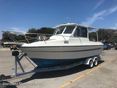 Lancer 25 Pilot House Fisher