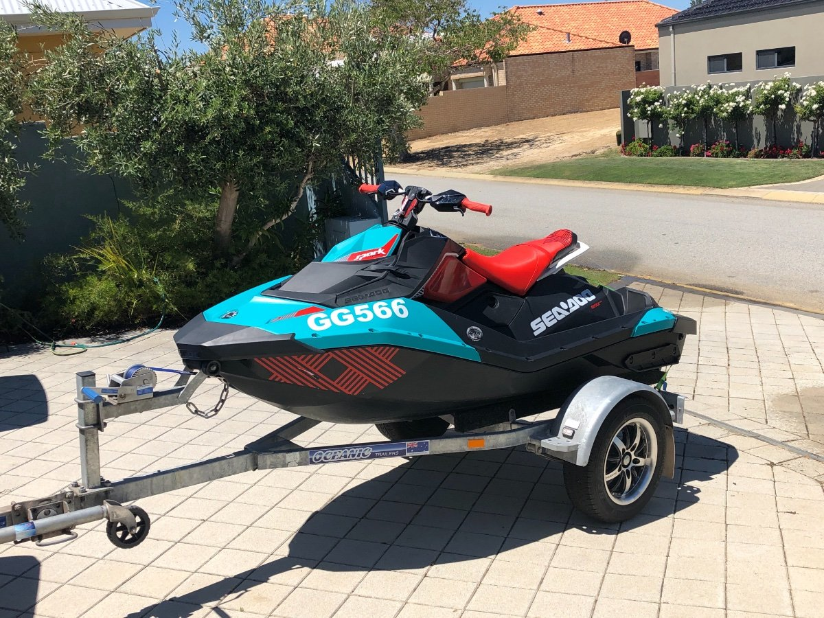 Used Sea-doo Spark 2up Spark Trixx Ibr for Sale | Boats For