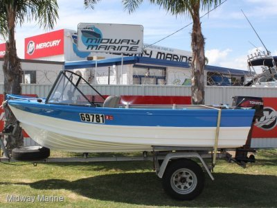 Quintrex 410 Fishabout Runabout