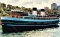 STEAMSHIP - SUPER YACHT - SYDNEY AUSTRALIA:Darling Harbour