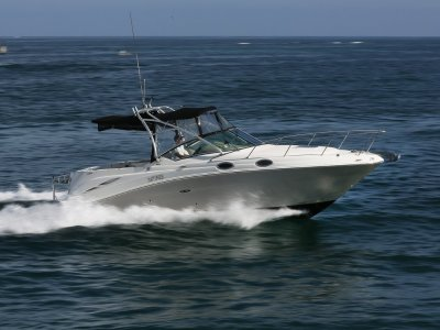 Sea Ray 270 Amberjack - A fishing boat with added luxury