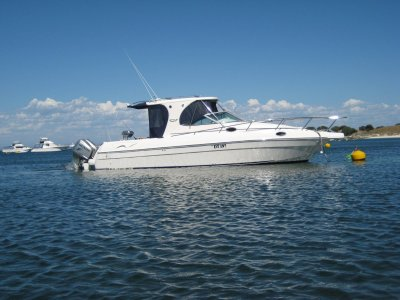 Evolution 35 with HONDA OUTBOARDS