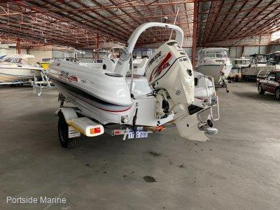 Indigo Yachts 17ft Runabout - Bowrider - Ski 150HP E-Tec 2013
