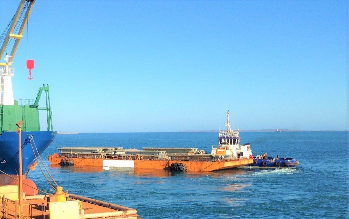 Swissco Deck Barge
