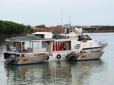 Conquest 55 Modified for Barramundi Fishing