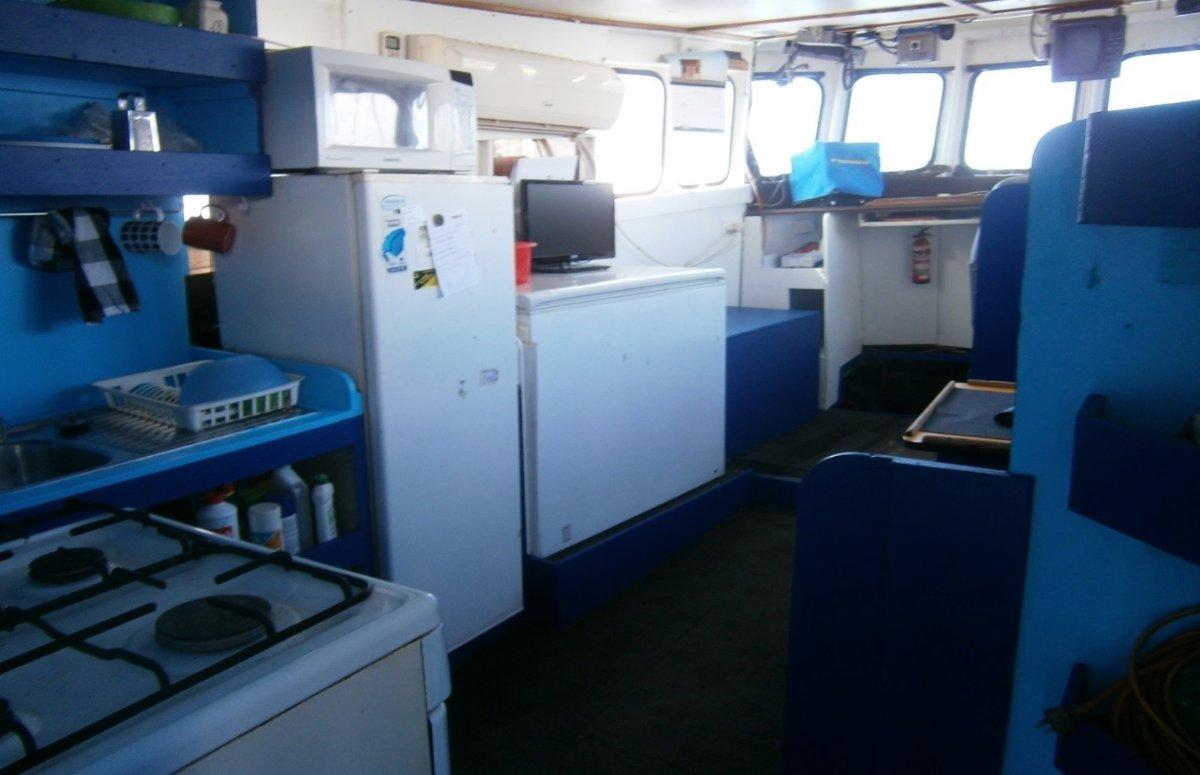 Price Reduced-Steel Mackerel Fishing Vessel 17.5m