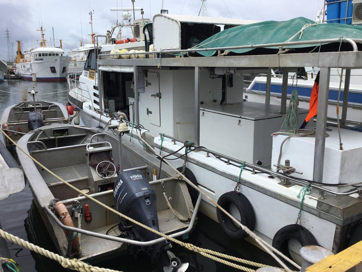 FISHING BOAT - BARRA