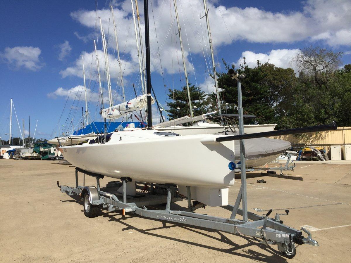 J Boats J/70 - Demonstrator Boat and Trailer - For Sale:J/70