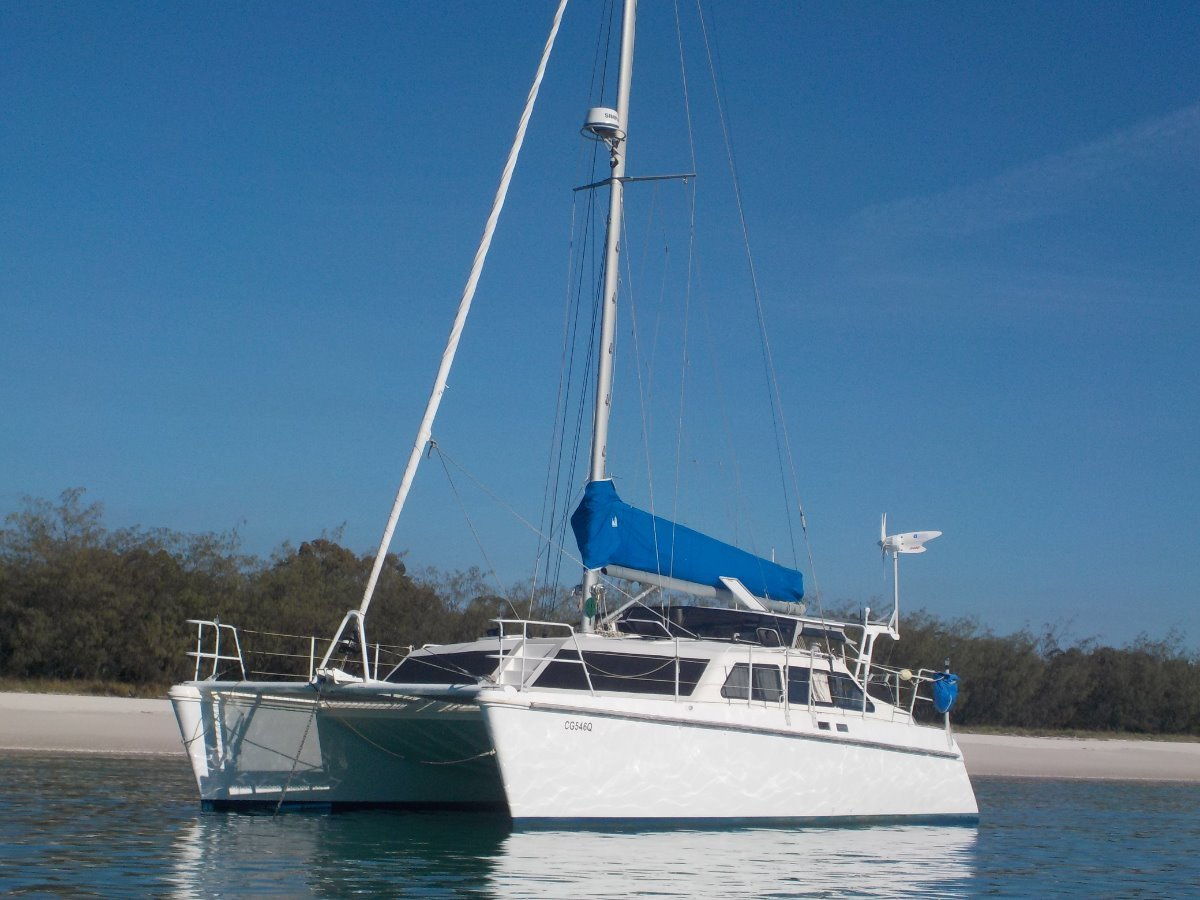 Simpson Sailing Catamaran Cloud 12