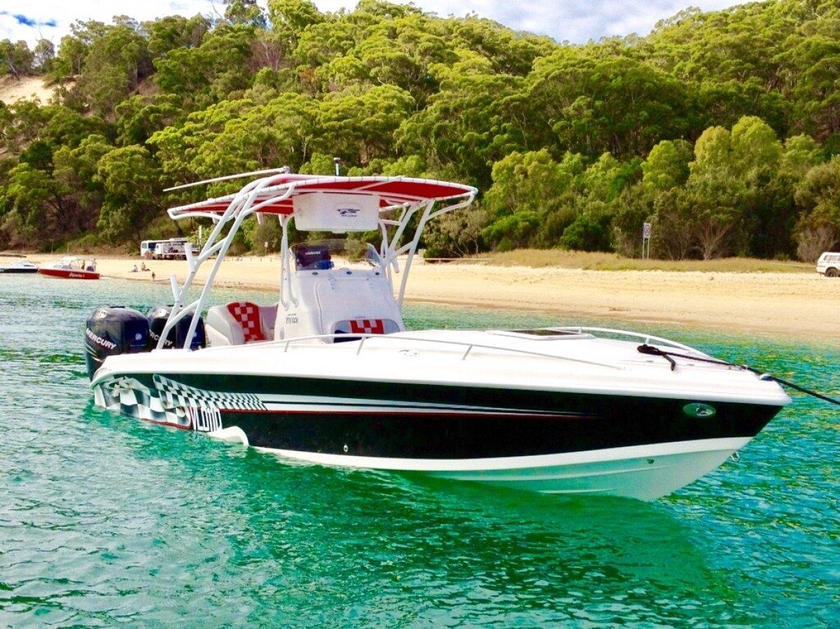 Glasstream 273 SCX:Sports boat