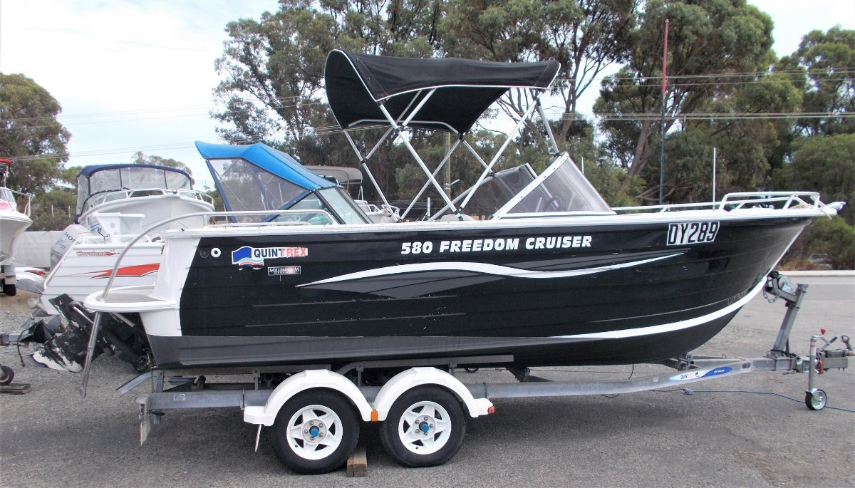 Quintrex 580 Freedom Cruiser - Price Reduction!