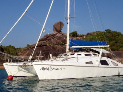Crowther Windspeed 41 Catamaran