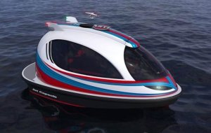 NEW BUILD - 7.35m Jet Capsule Boat